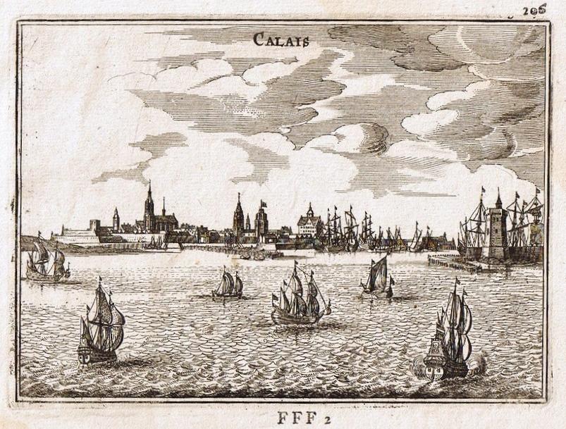 Calais au 17eme siecle