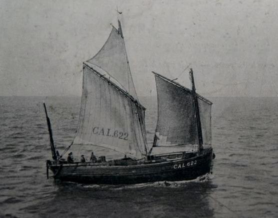 Calais le cal 622 lougre