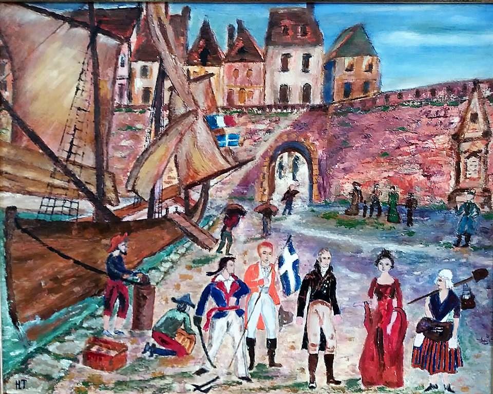 Calais le retour des corsaires calaisiens herve tavernier