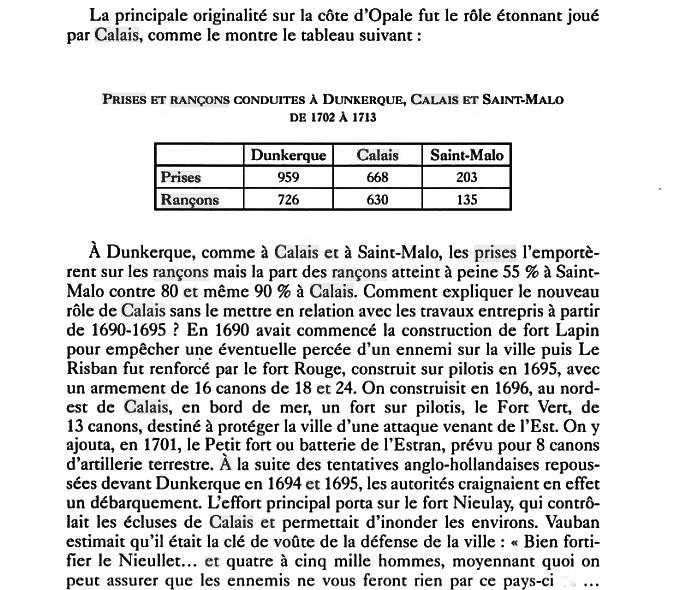 Calais role pendant la guerre de course source guerre et economie dans l espace atlantique silvia marzagali 2