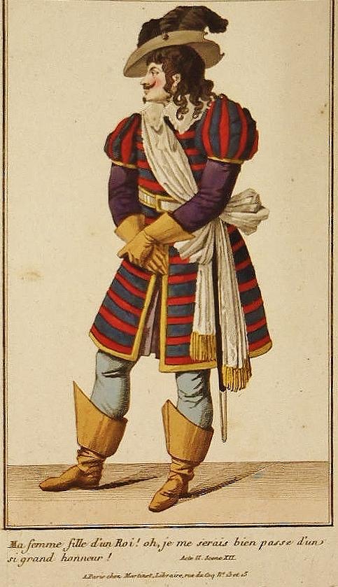 Frenoy role jean de calais theatre de l ambigu comique costume theatre 1806