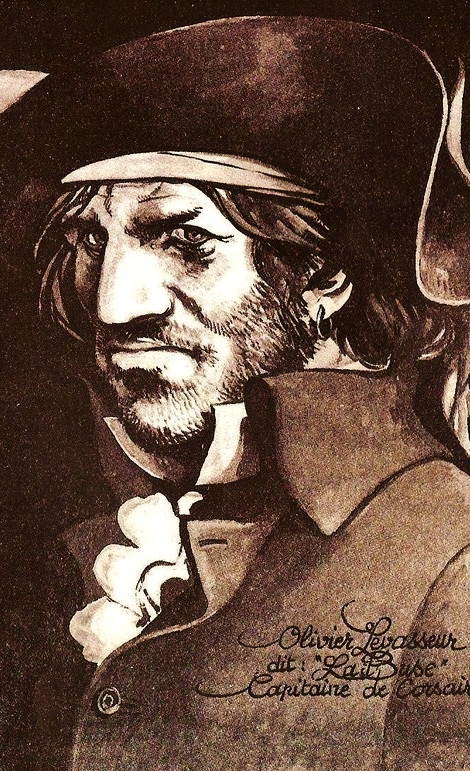 Levasseur olivier dit la buse portrait par michel faure