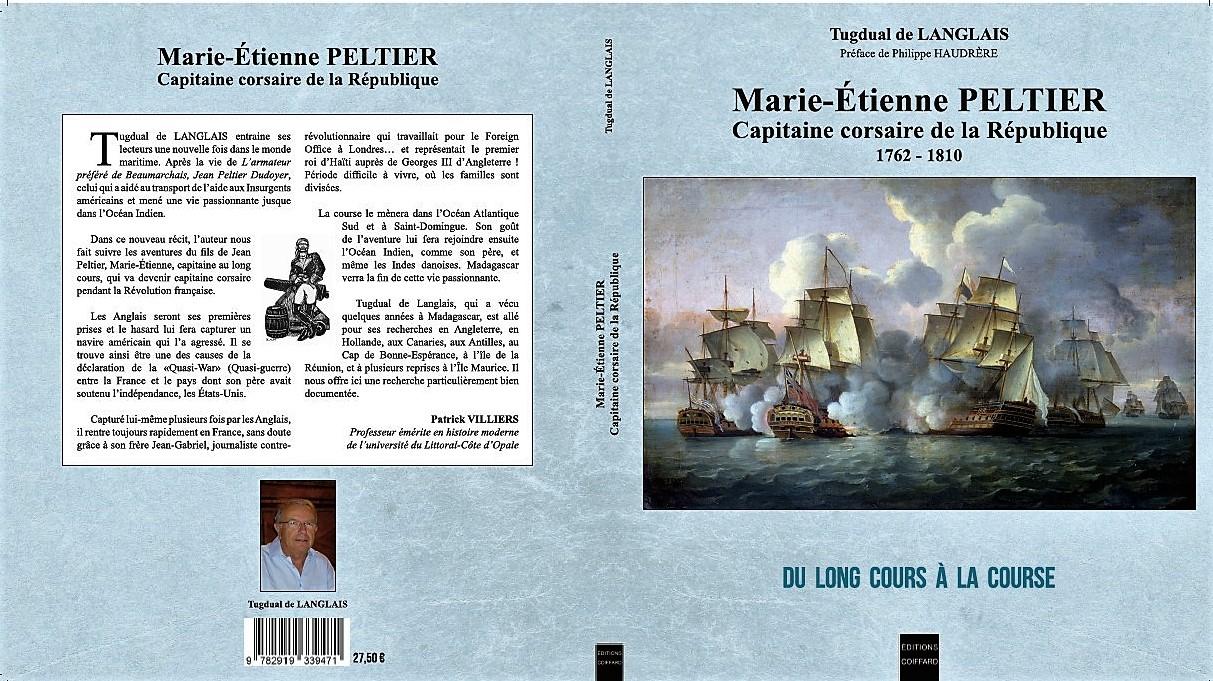 Livre sur les corsaire marie etienne peltier