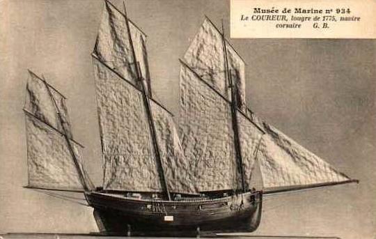 Lougre corsaire de 1775