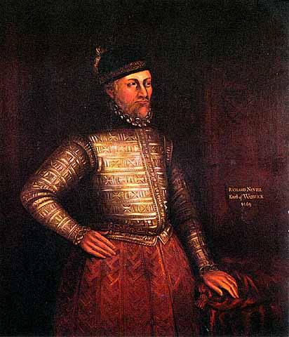 Richard neville comte de warwick portrait 1