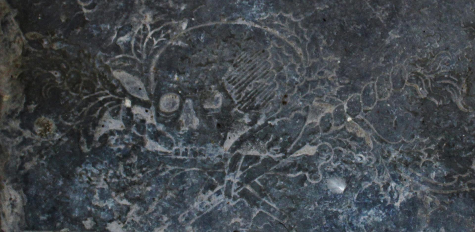 Tete de mort calais 1740